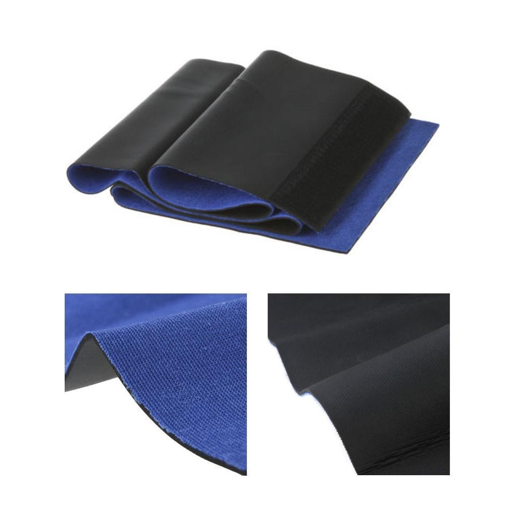 New Adjustable Free Size Trimmer Sauna Belt Slimming Belt Burner Belly Fitness Body Wrap Cellulite Shaper For Men Women 10