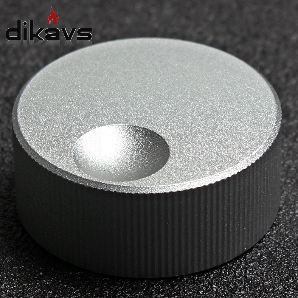 32x13mm Audio Multimedia Speakers Aluminum Knobs Guitar Knob Volume Adjustment