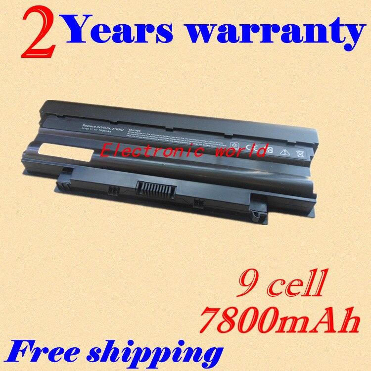 JIGU Laptop <font><b>Battery</b></font> 04YRJH 07XFJJ 312-0233 383CW 451-11510 <font><b>J1KND</b></font> For <font><b>DELL</b></font> Inspiron 13R 3010-D330 3010-D370HK 3010-D520 N3010