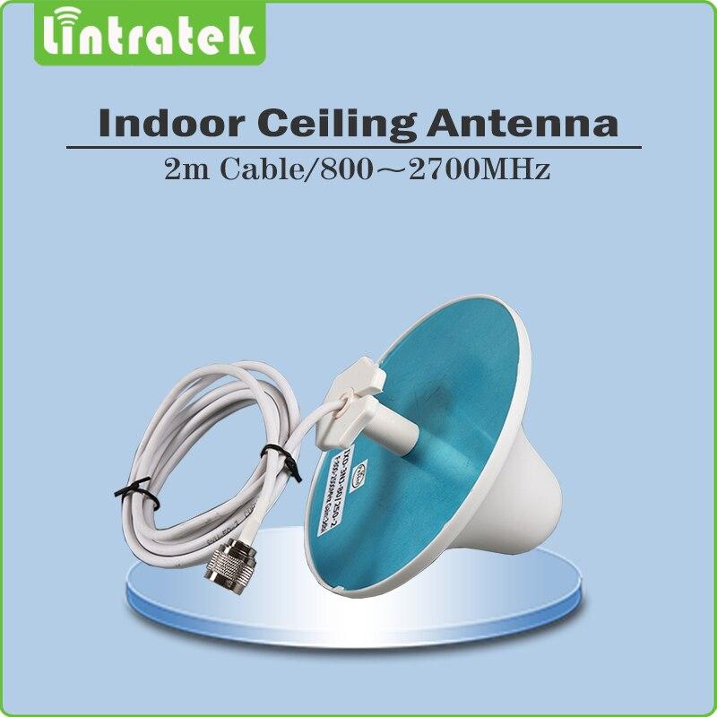 Répéteur Lintratek 4G Gain 70dB répéteur de Signal de téléphone 4G LTE 2600 mhz (bande LTE 7) amplificateur de Signal Mobile amplificateur complet @ 68 - 5