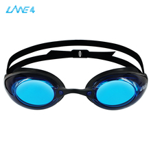 Excellent competition swimming goggles with panoramic view for men and women. Natacion glasses with anti-fog and UV protection. все цены