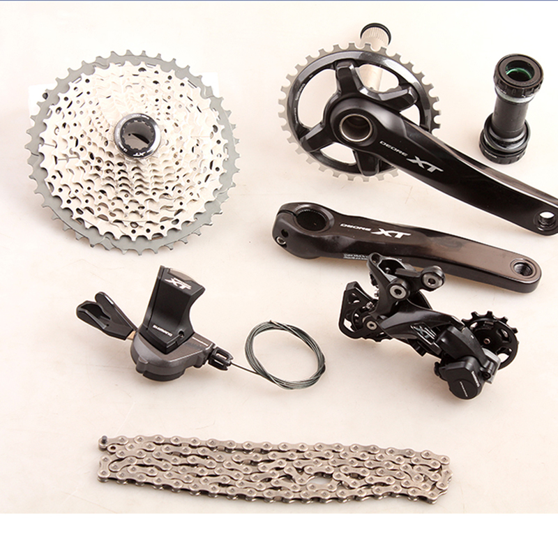 SHIMANO DEORE XT M8000 Groupset 1x11 11S Speed Crankset/Cassette/Switch/Shifter/Trigger 32T 170mm MTB Mountain Bike Groupset цена