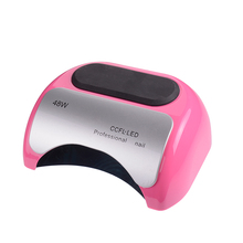 48 W Professional CCFL UV LED Lamp Nail Dryer For Nail Gel Polish Curing Ultraviolet Nails Lamp Dryers Art Manicure Tools US EU