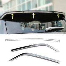 цена на 3pcs Rear Wing Decorative Strips Trim For Land Rover Discovery Sport 2015