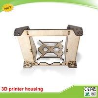 3D Printers Reprap Mendel Prusa I3 Linden Wood Frame Housing An Upgraded Version Of 6mm
