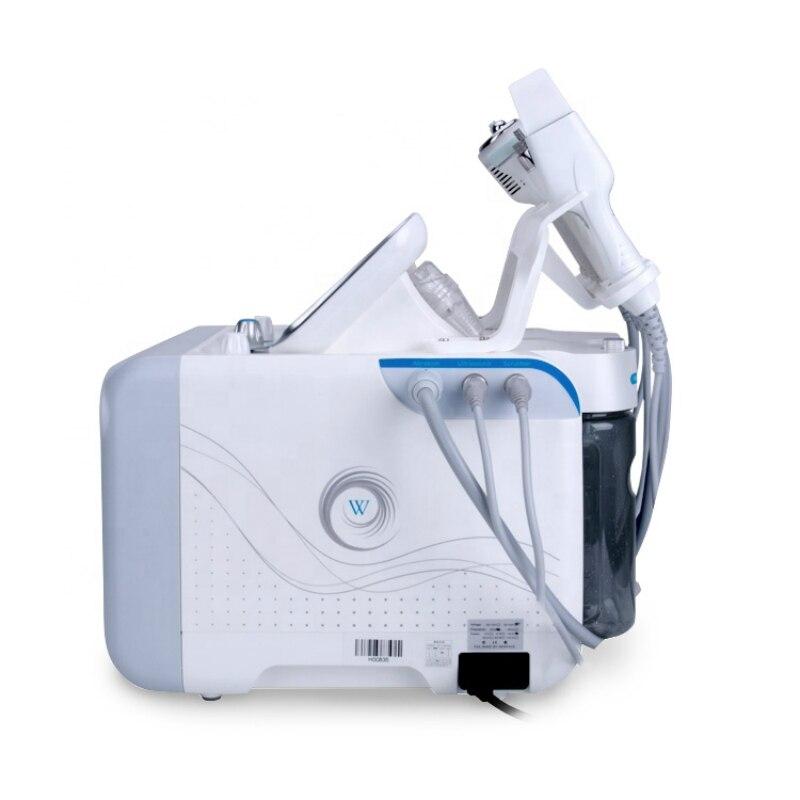 2019 Nuovo della pelle della macchina 6 in1 Diamante Dermoabrasione Hydro Acqua macchina ad alta frequenza ad ultrasuoni BIO MICRO CORRENTE - 5