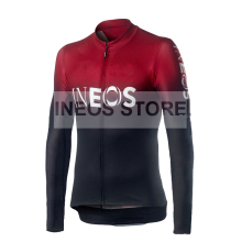 New ineos cycling jersey 2019 Long Sleeve winter thermal fleece clothing MTB Bike maillot ciclismo