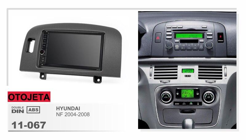 Fit pour HYUNDAI SONATA NF 2004-2008 quad core android 8.1 cadre plus de voiture radio audio stéréo multimédia bande enregistreur gps