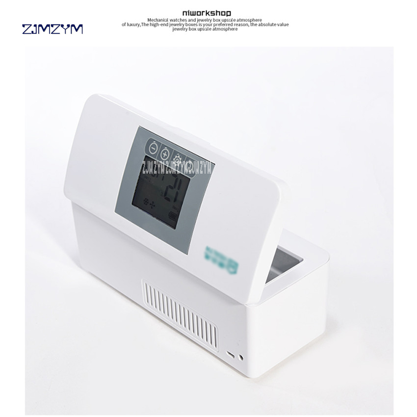 Portatile Mini Box Frigo Insulina Box Refrigerato Drug Reefer Degree  33 Hours Standby Time Portable Refrigerated Box 100-240V