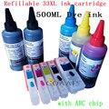 T3351 T3361-T3364 набор пустых многоразовых чернильных картриджей для принтера EPSON Expression Premium XP 530 540 630 640 635 645 830 900