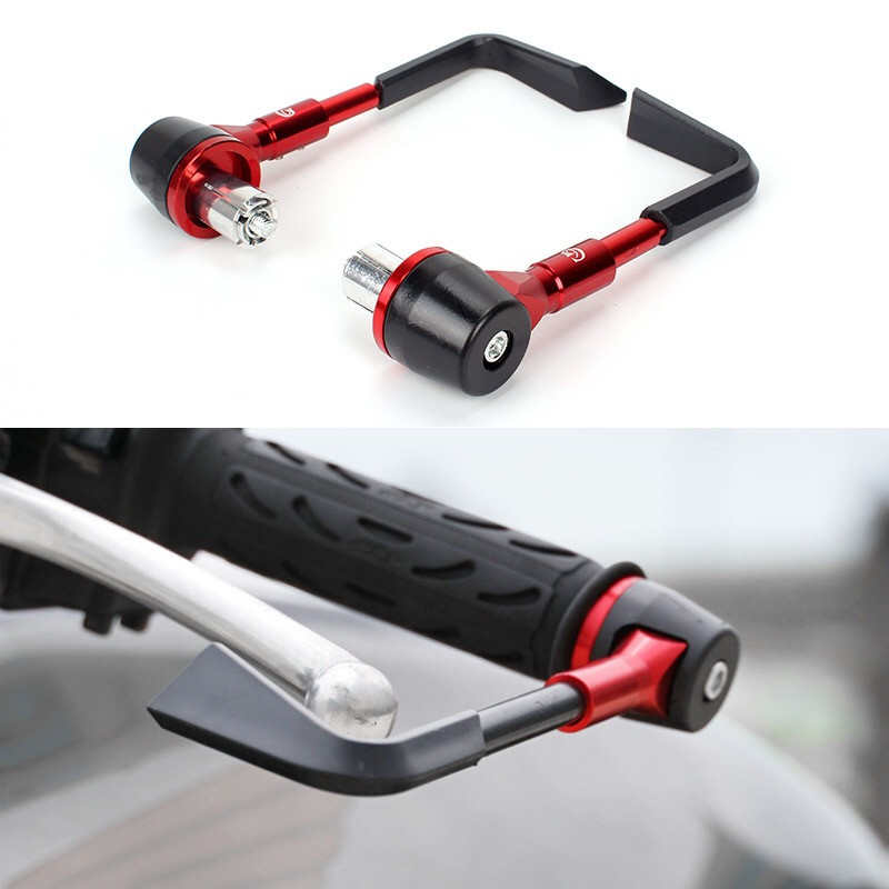 Style 22mm Motorcycle Accessories Motorcycle Brake Handle Protects CNC Horn Handles Shatter-Resistant Hand