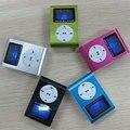 Mini Clip diseño Digital LED de luz de Flash reproductor de música MP3 con tarjeta TF Slot 5 colores opcionales FM Radio apoyo 32 GB