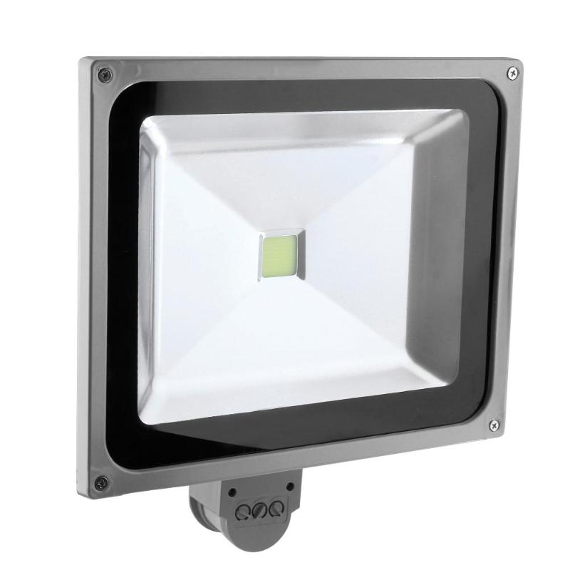 Vodool LED Floodlight Work Lamp 85-285V 6000LM Outdoor PIR Motion Sensor LED Floodlight Work Light Projector Lamp