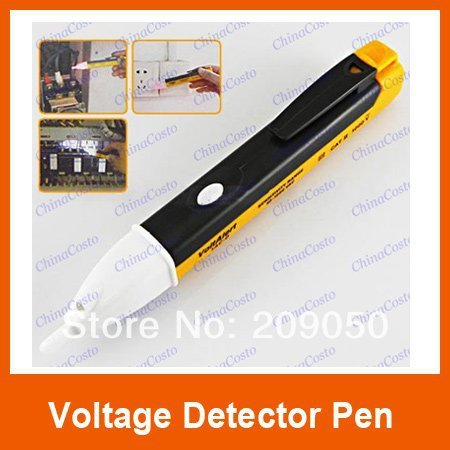 Retail New Non-Contact Voltage Detector Tester Alert 90V-1000V AC Pen