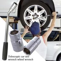 Telescopic Car Tire Wrench Wheel Socket Wrench 17MM 19MM 21MM 23MM For Car Automotive Tools
