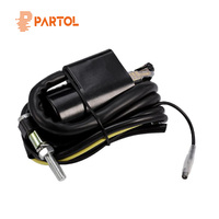 Partol Motorcycle Ignition Coil For Yamaha Banshee 350 YFZ350 1997 2006 ATV High Performance Motorbike Modification Parts 12V