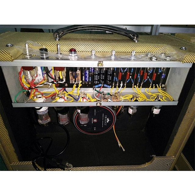 20 Watt Hand Wired All Tube Electric Guitar amplifier 5E3 Circuit Musical instruments professionals 3
