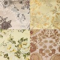Largura 1.45 m * comprimento 1 m, espessamento qualidade moda almofada do sofá tampa do sofá flor cortina de tecido jacquard 166