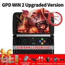 New GPD Win 2 WIN2 Intel Core m3-7Y30 Quad core 6″ GamePad Tablet Windows 10 8GB RAM 128GB ROM Pocket Mini PC Computer Laptop