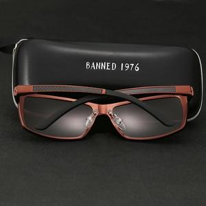 Image 2 - 2019 New Arrival Aluminum Brand men Sunglasses HD Polarized Lens Vintage Eyewear Accessories Sun Glasses Oculos For Men male 605