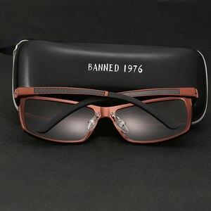 Image 2 - 2019 New Arrival aluminium marka mężczyźni okulary HD soczewki polaryzacyjne Vintage akcesoria do okularów okulary óculos dla mężczyzn mężczyzna 605