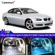 19 шт Нет Ошибка белый автомобиль светодиодный интерьер свет комплект для BMW E90 E92 M3 2006 2007 2008 2009 2010 2011 2012 светодиодный интерьер свет