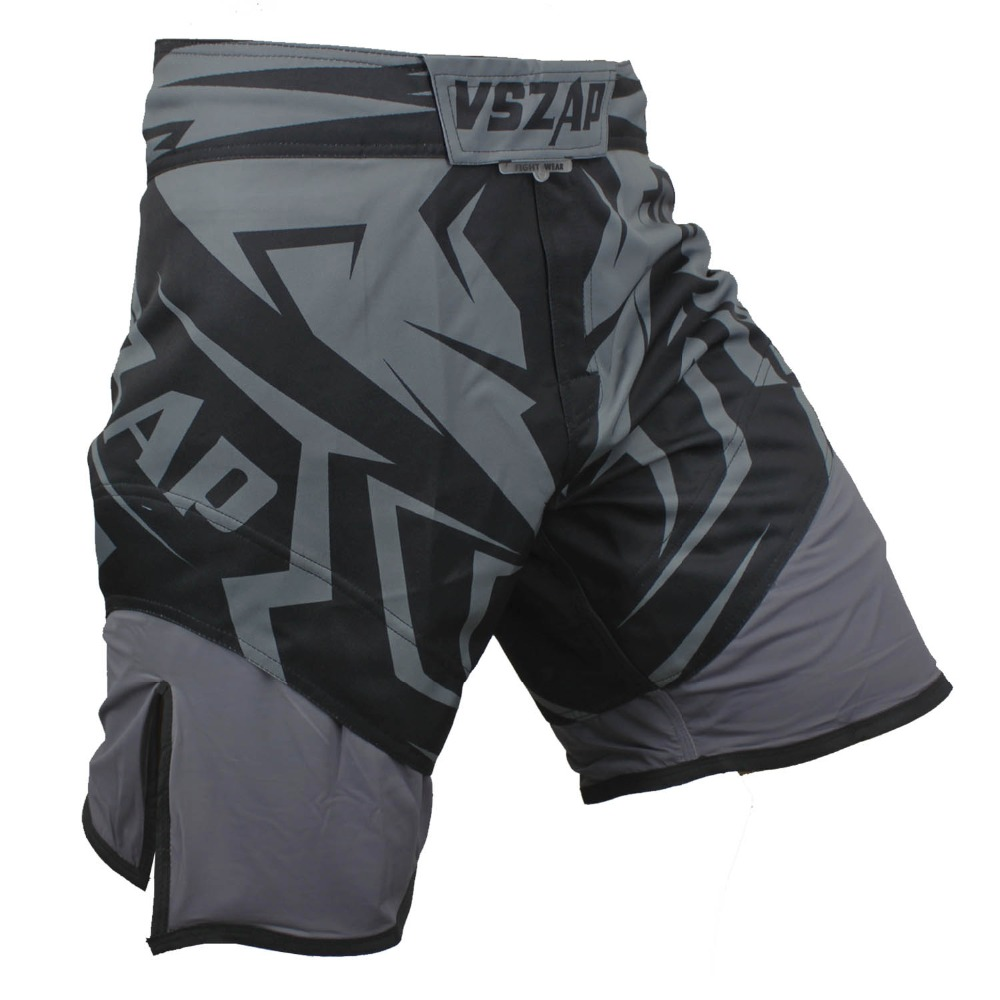 VSZAP Boxing Fight Shorts MMA Shorts For Men MMA Muay Thai Shorts Sport Trunks Grappling Sanda Kickboxing Pantse Boxe
