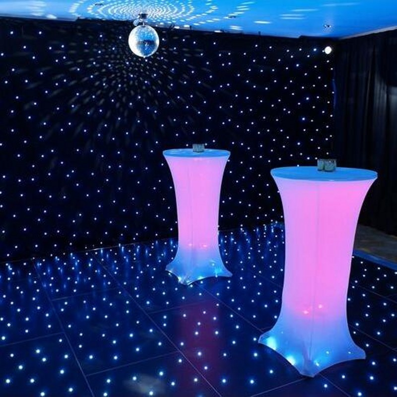 10pcs 60 100cm elastic stretch high bar table covers for Cocktail tables diy