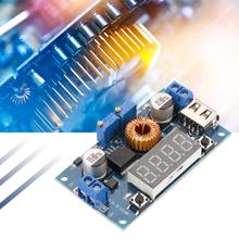 5A Constant Voltage & Constant Current Driver Step-down Constant Current Power Supply Module with USB Port