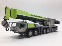 Изысканный 1:50 ZOOMLION QAY220T All Terrain Кран грузовик транспортных средств инженер техники литая игрушка модель для сбора украшения