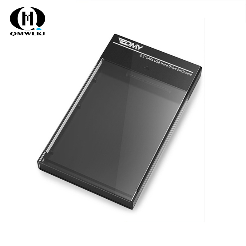 Image 2 - 2.5 Inch SATA HDD Case To Sata USB 3.0 SSD HD Hard Drive Disk External Storage Enclosure Box For ps4 TV Computer Router-in Harddisk & Boxs from Consumer Electronics