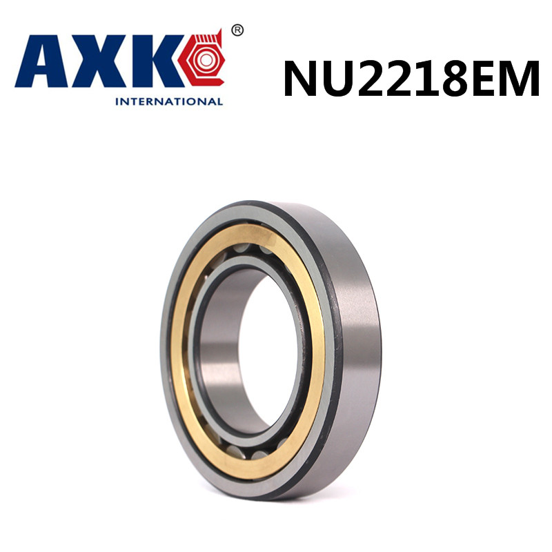 Axk Bearing Nu2218em Cylindrical Roller Bearing 90*160*40mm na4910 heavy duty needle roller bearing entity needle bearing with inner ring 4524910 size 50 72 22