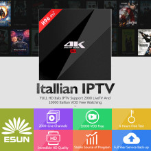 цены Super IPTV H96 Pro+ Android 7.1 IPTV BOX 3/32G S912 Italy  Spain UK French Germany Portugal EX-YU XXX 7000+VOD