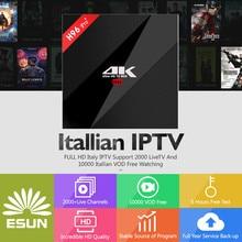 цены Super IPTV H96 Pro+ Android 7.1 IPTV BOX 3/32G S912 Italy  Spain UK French Germany Portugal EX-YU XXX 7000+VOD