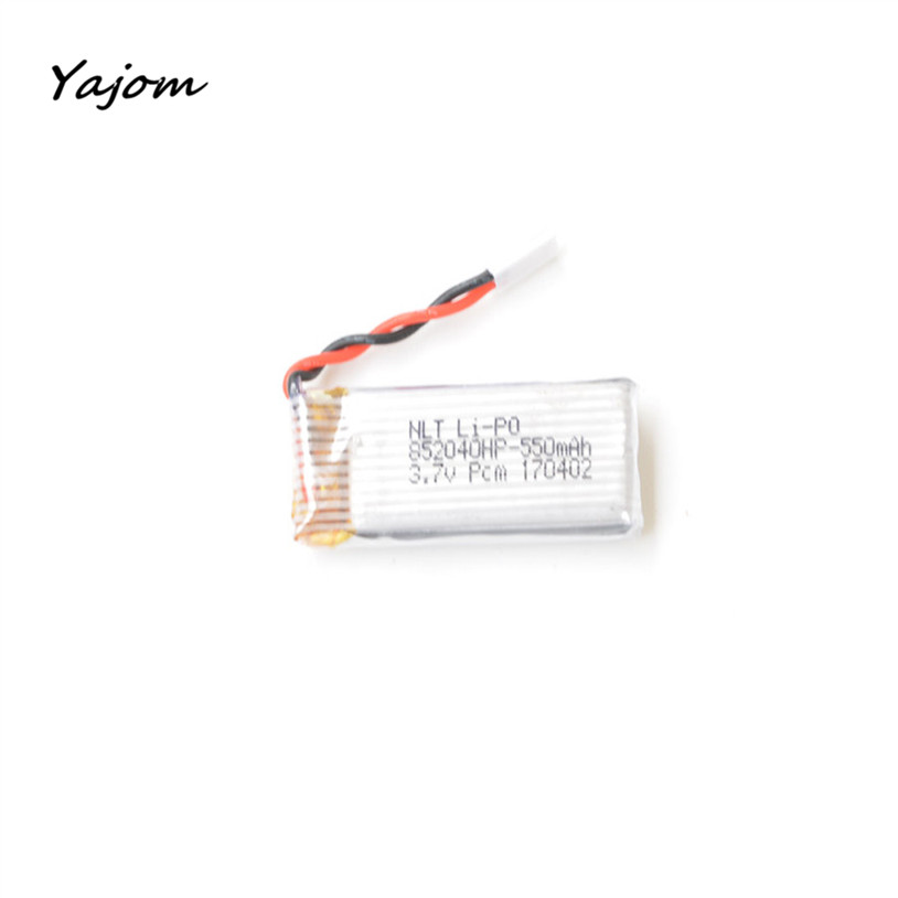 2017 Hot Sale 1Pcs 3.7V 550mAh Battery Drone JXD 523 RC Quadcopter Spare Parts toy Battery High Quality May 12