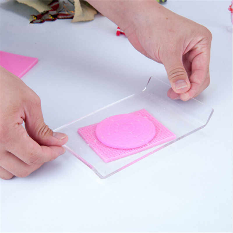 Fuuny Clay Sculpting Set Carving Pottery Acrylic Mud Plate Flattening Tools For Fime Polymer Clay Playdough Easy Leveling Tool