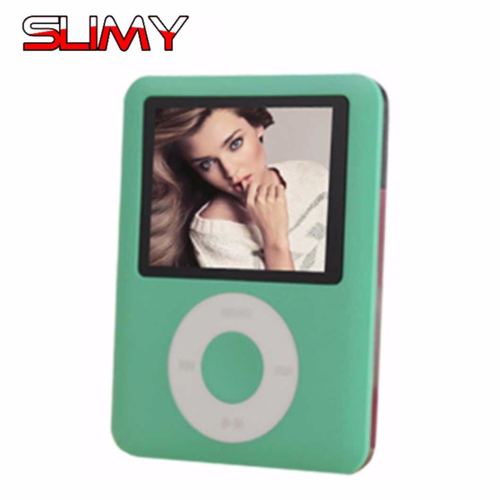 Schleimiges 2018 Neue Mode 8 Gb Schlank Digital Mp3-player 1,8 Zoll Lcd Screen Fm Radio Video Games Film Ebook Für Kinder Baby Kind Geschenk 2019 Offiziell Tragbares Audio & Video