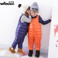 New Winter Cotton Trousers Jumpsuits Panty Baby Children's Pants Girls Boys Trousers