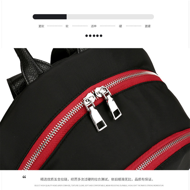 2019 New Lady's Swiss Military Army Backpack Travel Bags Laptop Backpack Schoolbag Waterproof Oxford fabric 4