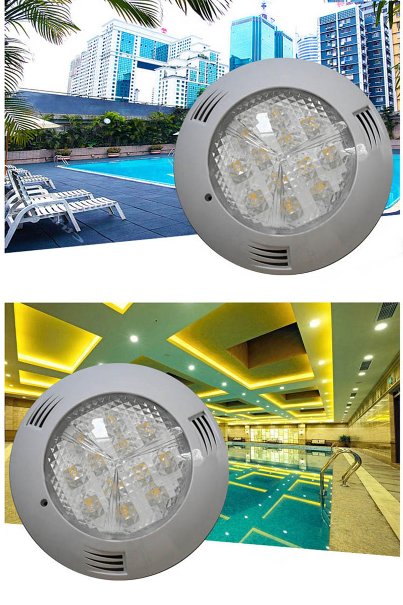 Image 5 - 12V Boat Plastic RGB LED Underwater Light with Remote Controller 6W 24W Swimming Pool Pond Lamp Waterproof-in Marine Hardware from Automobiles & Motorcycles