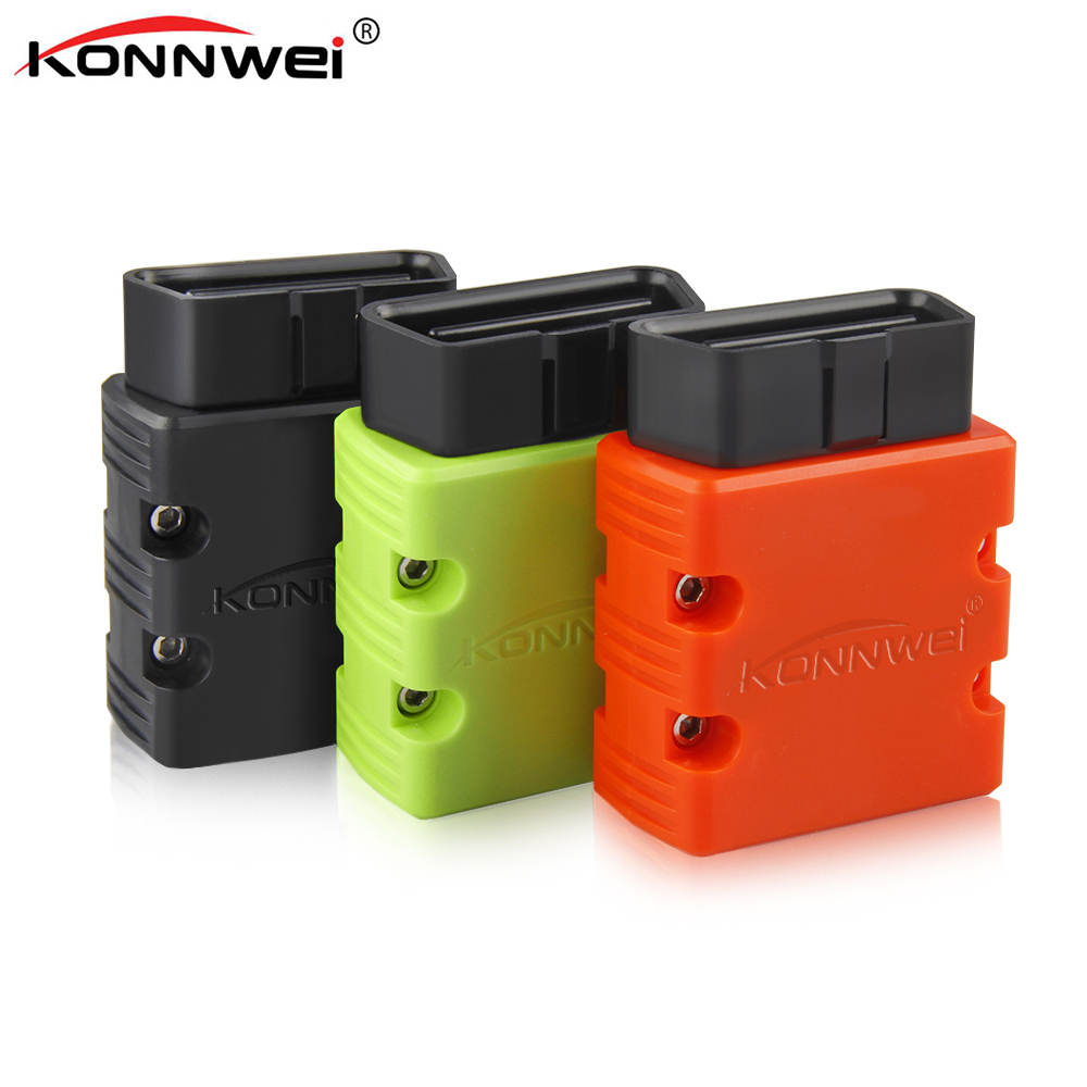 KONNWEI KW902 Bluetooth ELM327 V1.5 Chip PIC18f25k80 OBDII Code Reader ULME 327 Diagnose-Tool Funktioniert auf Android PC 16Pin kw 902