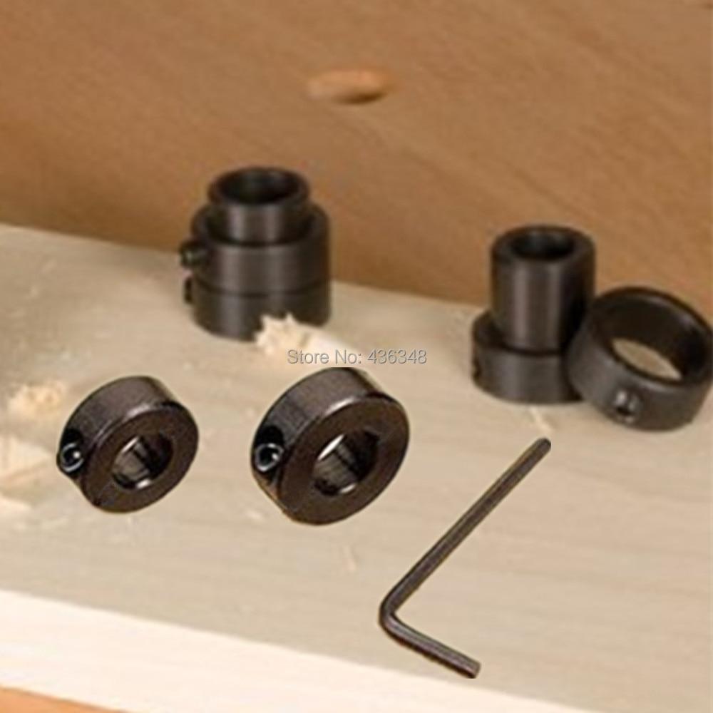 1PC Drill Bit Shaft Depth Stop Collars Ring 12mm Woodworking Wood Drills