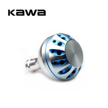 цена на Kawa Fishing Reel Handle Knob For Daiwa and Shimano Spinning Reel Alloy Material For 1000-3500 Model 35mm Diameter High Quality