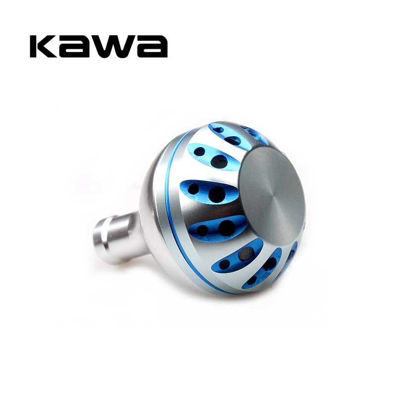 Kawa de carrete de la pesca con mando para Daiwa y Shimano carrete giratorio Material de aleación para modelo 1000-3500 35mm diámetro de alta calidad