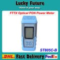 ST805C FTTX PON Optical Power Meter Tester With Rechargeable Battery English Version