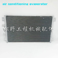 Radiador de aire acondicionado excavadora 320 312 315 311 325 C Instalación de rejilla de condensador ingeniería coche gancho máquina evaporador