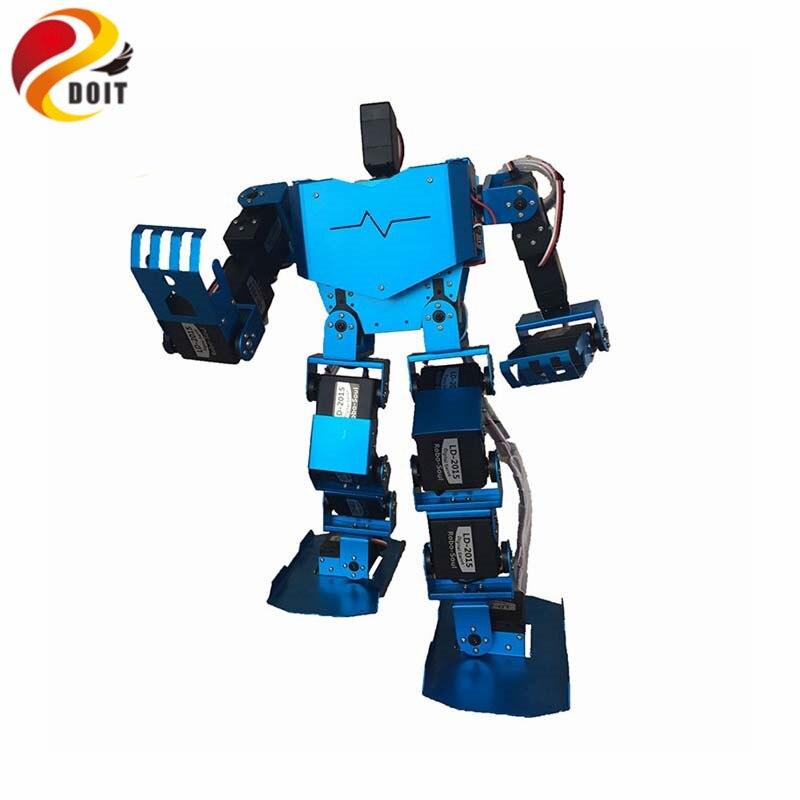 Oyuncaklar ve Hobi Ürünleri'ten Parçalar ve Aksesuarlar'de Resmi DOIT 19DOF Insansı Robot hepsi Bir Arada Robot Soul H3.0 19S Yarışması Dans Robot Bipedal Robot Platformu'da  Grup 1