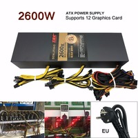 SENLIFANG New and original Mining power supply 2600W support 12 graphics card well tested free shipping