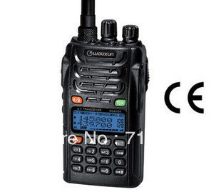 Ny WouXun KG-UVD1P Dual Band VHF & UHF Dual Display tovejs radio wouxun uvd1p walkie talkie vandtæt Freeshipping Wholesale