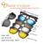 IVSTA Imán Mirrored gafas de Sol Clip Magnético Clip en Gafas de Sol Polarizadas de Los Hombres de Clips Personalizados Prescription Miopía visión nocturna